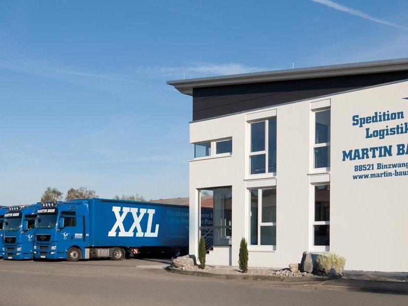 Martin Baur Spedition Logistik Haus
